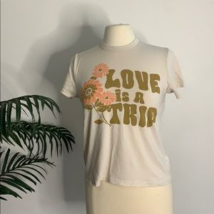 Love is a Trip Retro tee